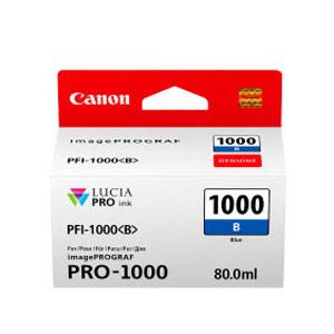 CANON Tinten <b>Blau</b> PFI-1000B, 80 ml, für iPF Pro 1000