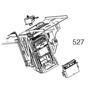 Epson Pump Cap Assy, B ASP, für Epson Stylus Pro 11880, Referenz: 527, (alt: 1510335)