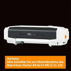 MUTOH ValueJet 628 Eco-Solvent Drucker |24 Zoll Arbeitsbreite<br>-ohne Take-Up-