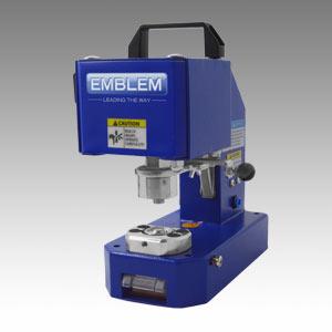 EMBLEM EASY AIRPRESS Standard 4 HS, pneumatische Ösenpresse für Kunststoff- und Metallösen | ohne Rolltisch, ohne Ösenaufnahme