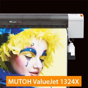 MUTOH ValueJet 1324X Eco-Solvent Drucker |54 Zoll / 1,37 Meter Arbeitsbreite