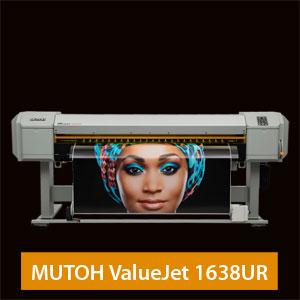 MUTOH ValueJet 1638UR UV LED Drucker |64 Zoll / 1,62 m Arbeitsbreite
