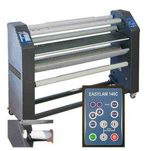EMBLEM Easylam 140C Laminator für faltenfreies Laminieren der unterschiedlichsten Materialien |140 cm