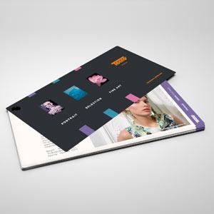 TECCO:PHOTO Swatchbook DELUXE, hochwertiger, bedruckter Musterfächer mit den aktuellen TECCO PHOTO Medien