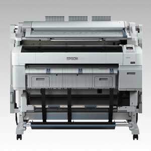 EPSON SureColor SC-T5200 D MFP PS, Doppelrolle, Scannfunktion,Adobe Postscript, 4-Farb Rollen-Drukcer und Kopierer mit 36 Zoll Scan und Druckbreite