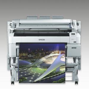 EPSON SureColor SC-T5200, schnelle 4-Farb Poster-, Plakat und CAD-Drucker, mit 36 Zoll Druckbreite