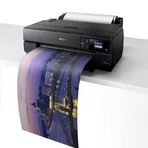 WINTER-AKTION <br />Epson SureColor SC-P800,  incl. Rollenmedienadapter<br />Din A2, 9-Farb Fotodrucker mit WLan (WiFi)