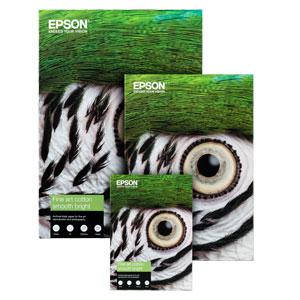 EPSON FINE ART COTTON SMOOTH BRIGHT |300 g/qm