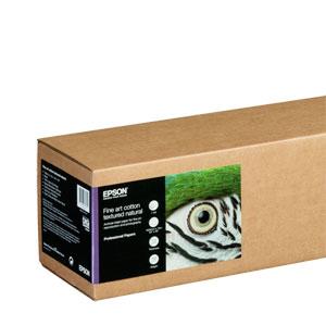 EPSON Fine Art Cotton Textured Natural, ein säurefreies, archivfestes Papier aus 100% Baumwolle |300 g/qm