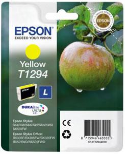 EPSON Tintenpatrone YELLOW (L) DURABrite Ultra Tinte | T1294