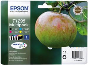 EPSON Multipack 4-farbig  (L) DURABrite Ultra Tinte | T1295