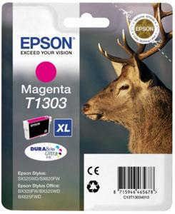 EPSON Tintenpatrone MAGENTA (XL) DURABrite Ultra Tinte | T1303