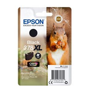 EPSON Tinte BLACK 378XL CLARIA PHOTO HD INK, 11,3 ml<br>für XP-8500, XP-15000