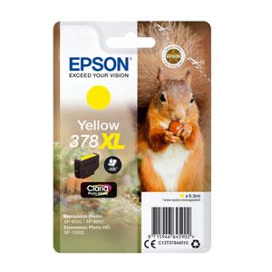 EPSON Tinte YELLOW 378XL CLARIA PHOTO HD INK, 9,3 ml<br>für XP-8500, XP-15000