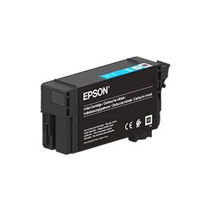Epson T40C2 Tintenpatrone,  CYAN |26 ml<br />für SureColor SC-T3100, SC-T5100 Serie