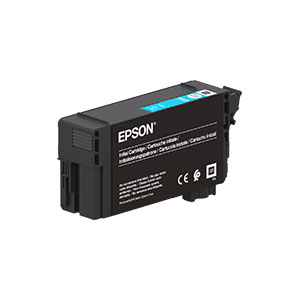 Epson T40D2 Tintenpatrone,  CYAN |50 ml<br />für SureColor SC-T3100, SC-T5100 Serie