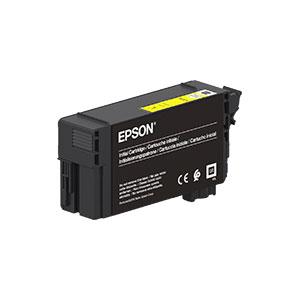 Epson T40D4 Tintenpatrone, YELLOW / GELB |50 ml<br />für SureColor SC-T3100, SC-T5100 Serie
