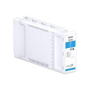 Epson T41F2 Tinte CYAN |350 ml<br />für SureColor SC-T3400, SC-T5400 Serie
