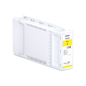 Epson T41F4 Tinte YELLOW |350 ml<br />für SureColor SC-T3400, SC-T5400 Serie