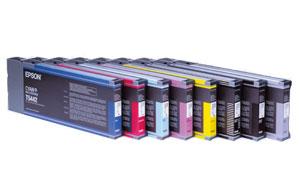 Original EPSON Tinte T543  110 ml<br />für EPSON Stylus Pro 4000, 7600, 9600