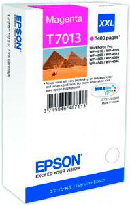 EPSON T7013 Tintenpatrone MAGENTA (XXL) für WP4000/4500 Series | 34,2 ml