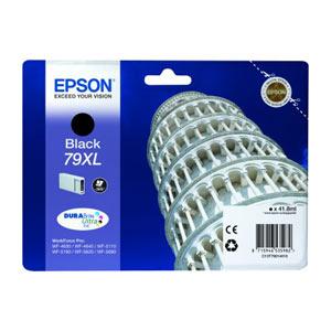 EPSON T7901 (XL)  BLACK (schwarz) Tintenpatronefür WF Pro 5xxx/46x0 Series   41,8 ml