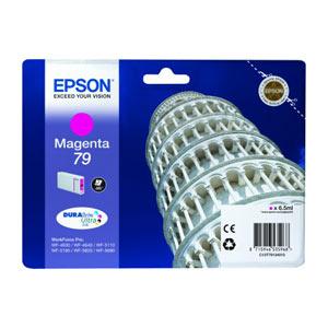 EPSON T7913 (L) MAGENTA Tintenpatrone für WF Pro 5xxx/46x0 Series   6,5 ml