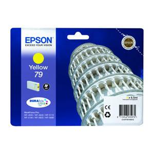 EPSON T7914 (L) GELB Tintenpatrone für WF Pro 5xxx/46x0 Series   6,5 ml