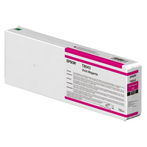 EPSON T8043 MAGENTA, Tinte | 700 ml<br />für Epson SureColor SC-P Serie