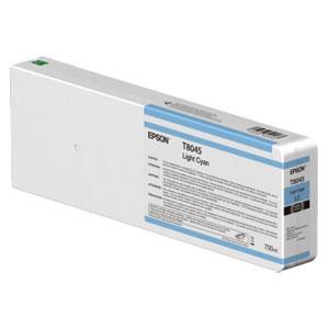 EPSON T8045 LIGHT CYAN, Tinte | 700 ml<br />für Epson SureColor SC-P Serie