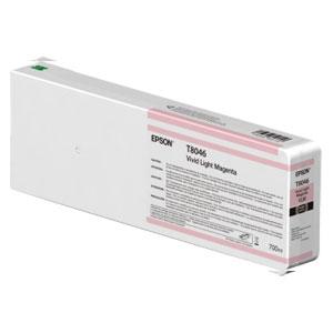 EPSON T8046 LIGHT MAGENTA, Tinte für Epson SureColor SC-P Serie | 700 ml