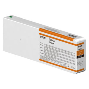 EPSON T804A ORANGE, Tinte | 700 ml<br />für Epson SureColor SC-P Serie