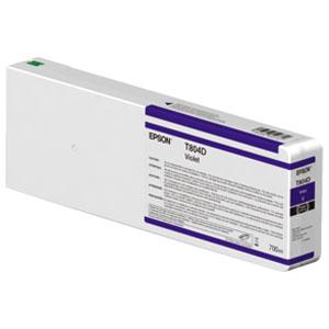 EPSON T804D VIOLET, Tinte für Epson SureColor SC-P Serie | 700 ml