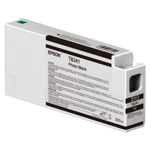 EPSON T8241 PHOTO BLACK, Tinte für Epson SureColor SC-P Serie | 350 ml