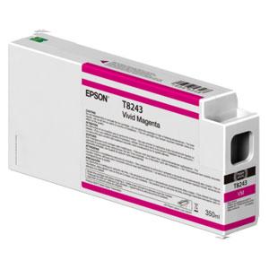 EPSON T8243 MAGENTA, Tinte | 350 ml<br />für Epson SureColor SC-P Serie