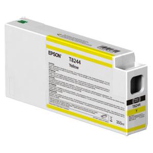EPSON T8244 GELB, Tinte | 350 ml<br />für Epson SureColor SC-P Serie
