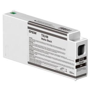 EPSON T8248 MATTE BLACK, Tinte | 350 ml<br />für Epson SureColor SC-P Serie