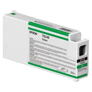EPSON T824B GRÜN, Tinte | 350 ml<br />für Epson SureColor SC-P Serie