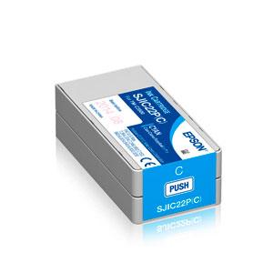 EPSON Tinte CYAN TM-C3500, SJIC22P(C), 32,6 ml
