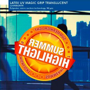 EMBLEM Latex UV Magic Grip Translucent, matt   90 µ