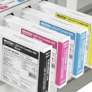 MUTOH LED UV Tinten UH21 für Mutoh ValueJet 426UF/626UF 1626UH/1638UH | 220 ml<br><b>Die UH21 Tinten ersetzten</b> die abgekündigten <b>LUH1 Tinten</b