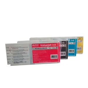 MUTOH ECO Solvent Ultra Tinten für Mutoh ValueJet VJ-1324 VJ1624 |220 ml