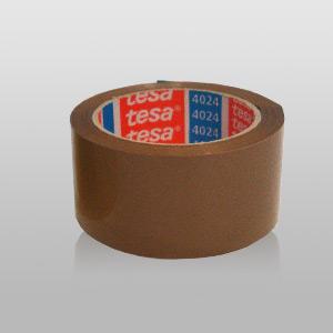 Tesa Packband braun, 4024,  Breite: 50 mm, Länge: 66 Meter | VE - 25 Rolle