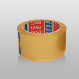 Tesa Packband transparent, 4024,  Breite: 50 mm, Länge: 66 Meter | VE - 25 Rolle