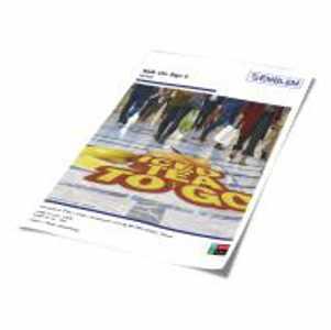 EMBLEM Walk on Sign 2 Fußbodenfolie, Rutschhemmung R9 nach DIN 51130 | 100 µ