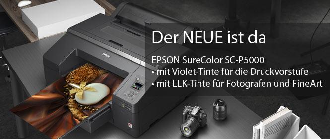 Der NEUE ist das, Epson SureColor SC-P5000