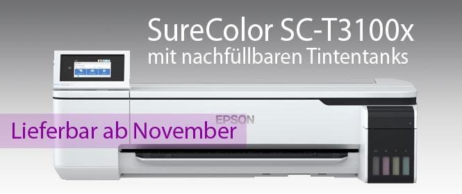 EPSON SureColor SC-T3100x, mit nachfüllbaren Tintentanks