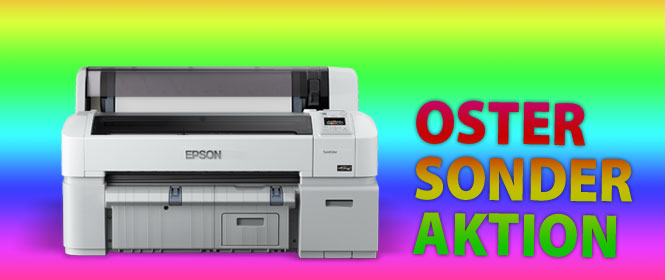 Oster-Sonder-Aktion Epson SureColor SC-T3200 ohne Standfuss